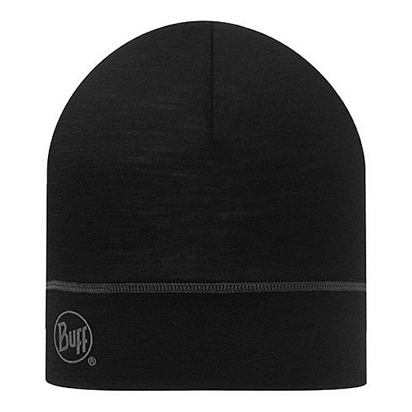 Buff Merino Wool Beanie, Black, 600
