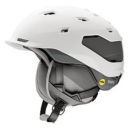 Smith Quantum Helmet - MIPS, Matte White Charcoal, 256