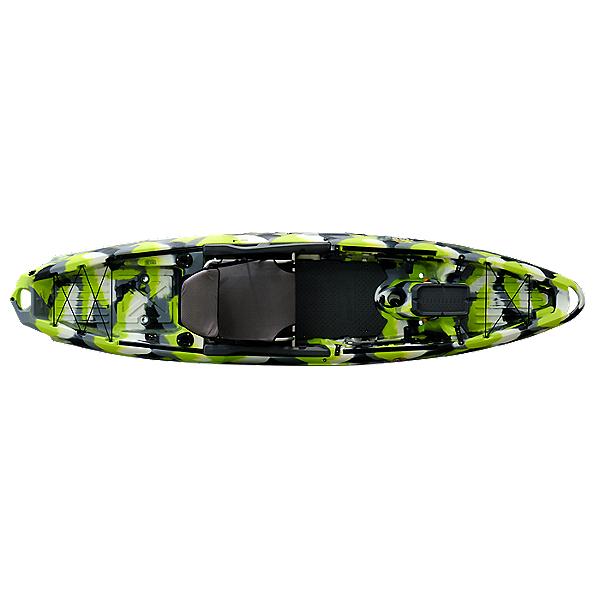 3 Waters Kayaks Big Fish 120 Fishing Kayak 2020, Green Camo, 600
