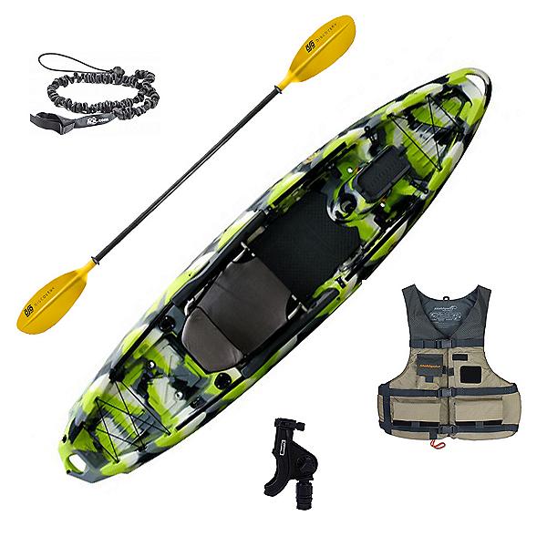 3 Waters Kayaks Big Fish 120 Angler Kayak Package, , 600