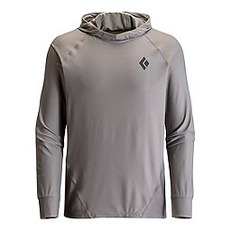 Black Diamond L/S Alpenglow Hoody, Nickel, 256