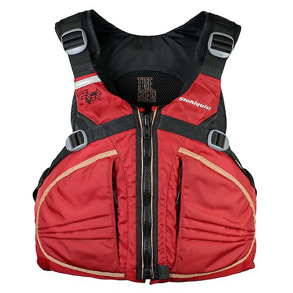 Stohlquist TREKKer PFD, Deep Red, 600