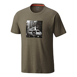 Mountain Hardwear A Man and His Van SS T, Heather Stone Green, 256