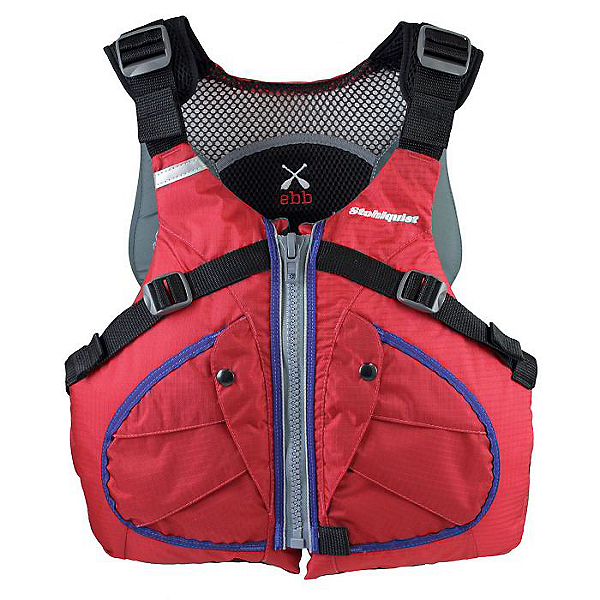 Stohlquist Ebb Recreational PFD Red - L/XL, Red, 600