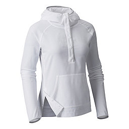 Mountain Hardwear MHW AC Long Sleeve Hoody Women's, White, 256