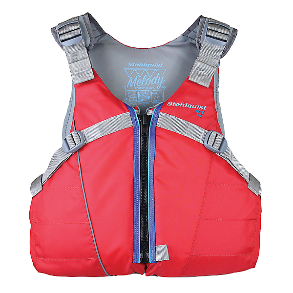 Stohlquist Melody Recreational PFD - Women, Red, 600