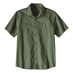 Patagonia Fezzman Shirt Slim Fit, Whole Weave-Buffalo Green, 256