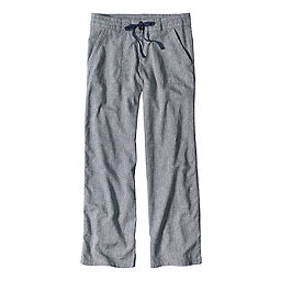 Patagonia Island Hemp Pants Reg Women's, Chambray-Navy Blue, 256
