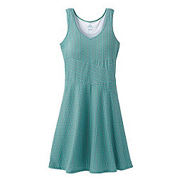 prAna Amelie Dress Women's, Aquamarine Parade, 256