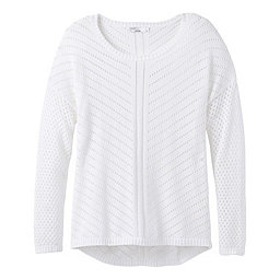 prAna Parker Sweater Women's, White, 256
