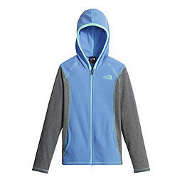 The North Face Glacier Fz Hoodie Girls, Provence Blue, 256