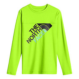 The North Face LS Hike/Water Tee Youth, Power Green, 256