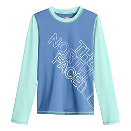 The North Face LS Hike/Water Tee Youth, Provence Blue, 256