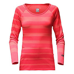 The North Face LS Renegade Crew Women's, Cayenne Red-Burnt Coral, 256