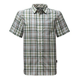 The North Face SS Passport Shirt, High Rise Grey Plaid, 256