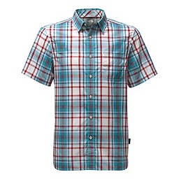 The North Face SS Passport Shirt, Vintage White Plaid, 256