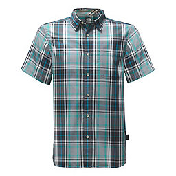 The North Face SS Passport Shirt, Mid Grey Plaid, 256