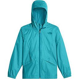 The North Face Zipline Rain Jacket Youth, Blue Curacao, 256
