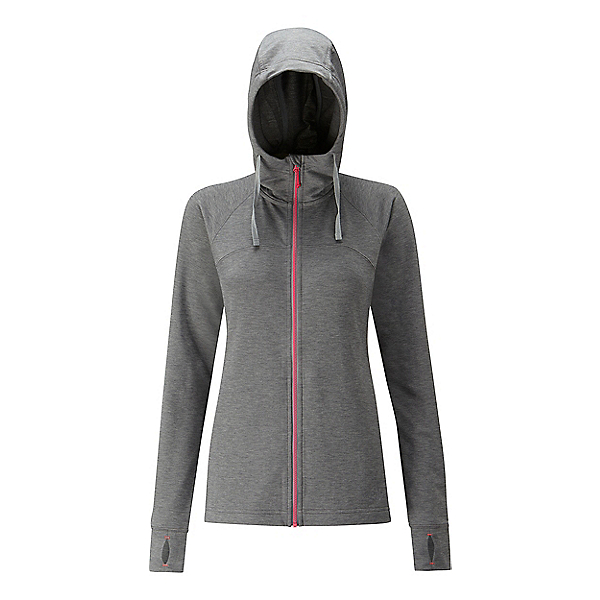 RAB Top-Out Hoody Women's, Anthracite Marl, 600