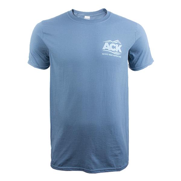 ACK Logo T-Shirt Indigo - M, Indigo, 600