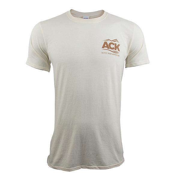 ACK Fishing Headquarters T-Shirt Natural - 2XL, Natural, 600