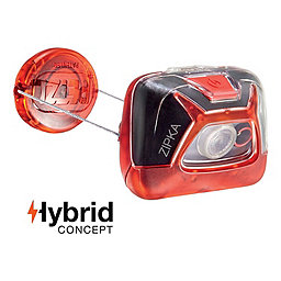 Petzl Zipka Headlamp, Red, 256
