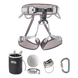 Petzl Corax Climbing Kit, Gray, 256