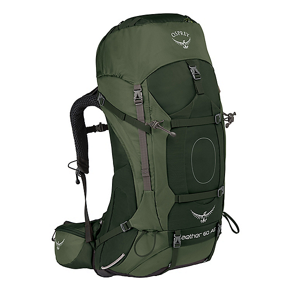 Osprey Aether AG 60 - MD/Adriondack Green, Adriondack Green, 600