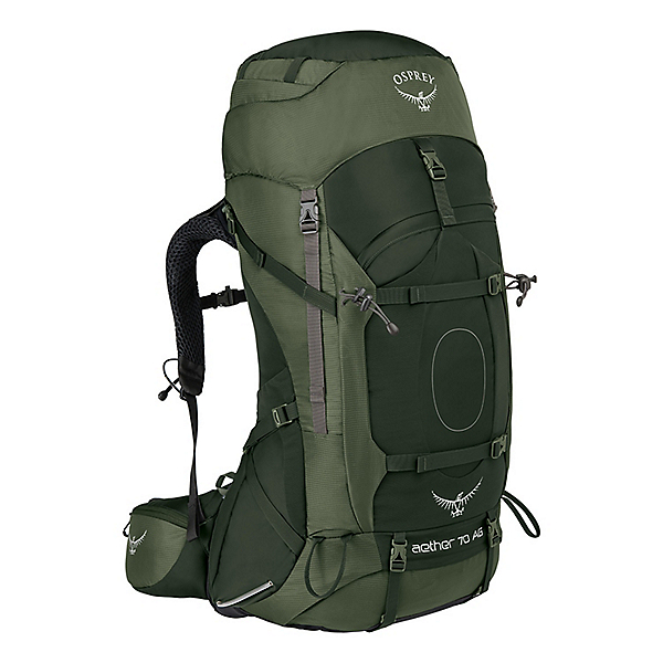Osprey Aether AG 70 - SM/Adriondack Green, Adriondack Green, 600