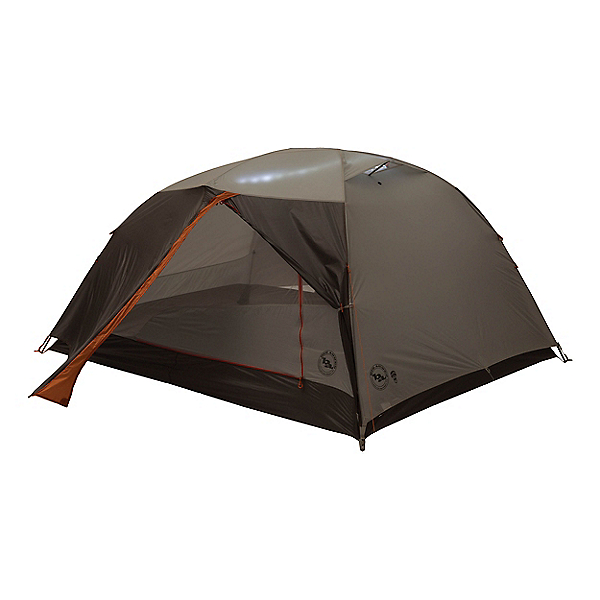 Big Agnes Copper Spur 3 HV UL Tent mtnGLO, Silver-Gray, 600