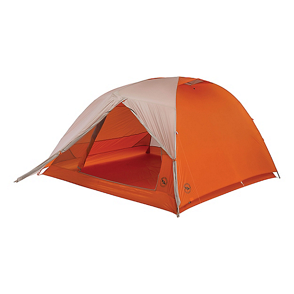 Big Agnes Copper Spur 4 HV UL Tent, Gray-Orange, 600