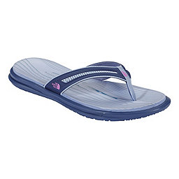 The North Face BaseCamp Xtrafoam Flipflop Women's, Coastal Blue-Sweet Violet, 256