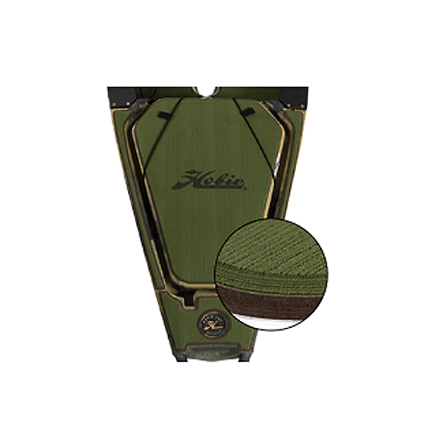 Hobie Deck Mat Kit for Outback Kayaks Prior to 2018 Green w/ Espresso Trim, Green w/ Espresso Trim, 600