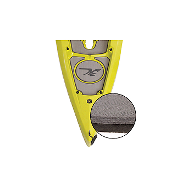 Hobie Deck Mat Kit for Outback Kayaks Prior to 2018, Gray w/ Charcoal Trim, 600