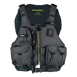 NRS Chinook Fishing PFD, Charcoal, 256