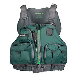 NRS Chinook Fishing PFD, Green, 256