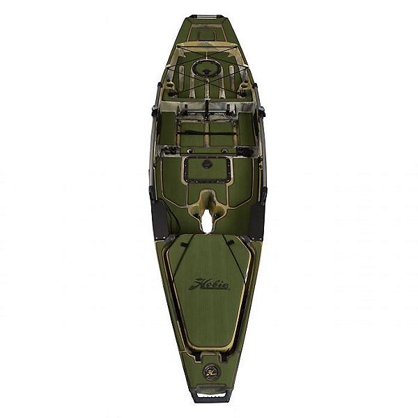 Hobie Deck Mat Kit for Pro Angler 14 Kayaks Complete 2021 Green w/ Espresso Trim, Green w/ Espresso Trim, 600