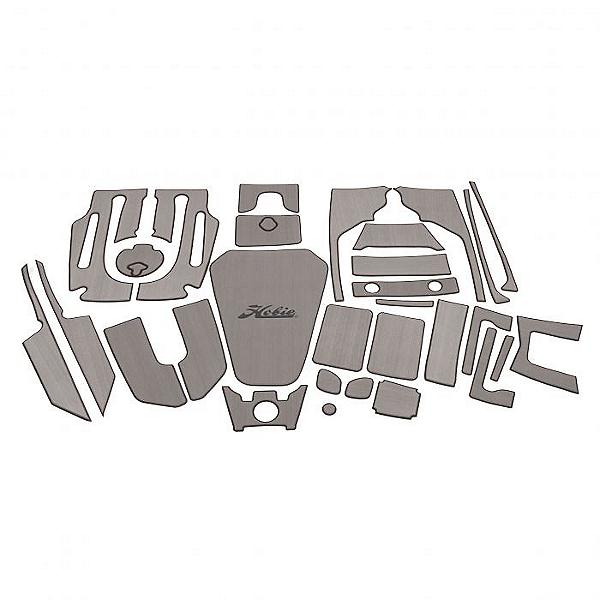 Hobie Deck Mat Kit for Pro Angler 14 Kayaks Complete, Gray w/ Charcoal Trim, 600