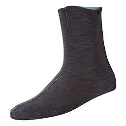NRS HydroSkin 0.5 Wetsocks, Charcoal Heather, 256