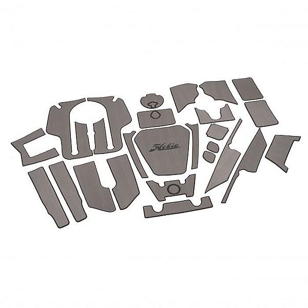 Hobie Deck Mat Kit for Pro Angler 12 Kayaks Complete Gray w/ Charcoal Trim, Gray w/ Charcoal Trim, 600