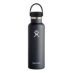 Hydro Flask 21oz Standard Mouth w/Flex Cap, Black, 256