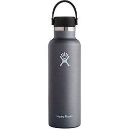 Hydro Flask 21oz Standard Mouth w/Flex Cap, Graphite, 256