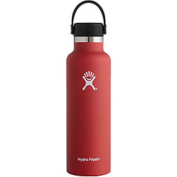 Hydro Flask 21oz Standard Mouth w/Flex Cap, Lava, 256