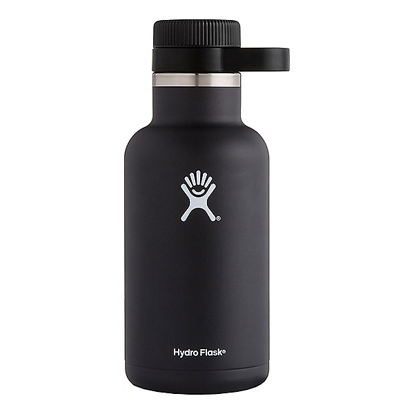 Hydro Flask 64oz Growler, Black, 600