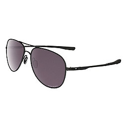 Oakley Elmont Medium Sunglasses, Matte Black w-Prizm Daily Pol, 256