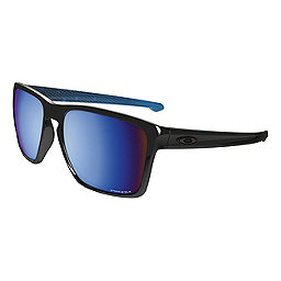 Oakley Sliver XL Sunglasses, Pol Blk w-Prizm Deep Water Pol, 256