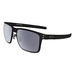 Oakley Holbrook Metal Sunglasses, Matte Black w- Grey, 256