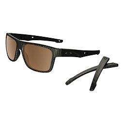 Oakley Crossrange Sunglasses, Woodgrain w- PRIZM Tngstn Pol, 256