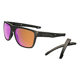 Oakley Crossrange XL Sunglasses, Carbon w Prizm Trail, 256