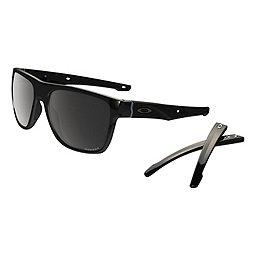 Oakley Crossrange XL Sunglasses, Pol Black W- Prizm Blk Pol, 256